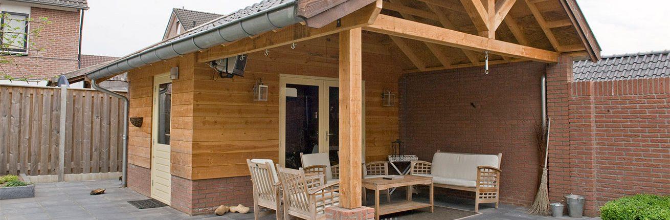 Tuinhuis schuur pergola en veranda hans dieker for Offerte veranda